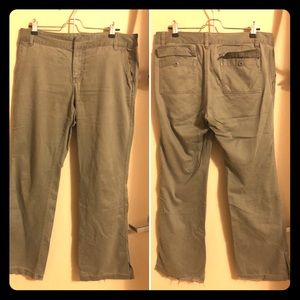 Old Navy Cargo Pants Minus Cargo Leg Pockets